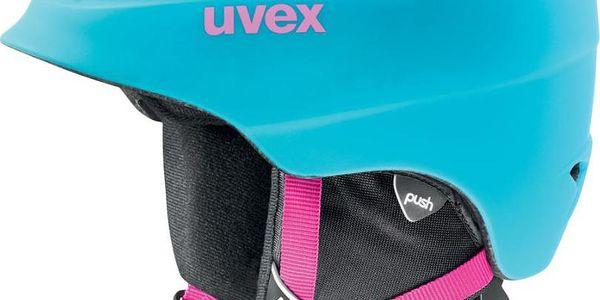 UVEX AIRWING 2 PRO Liteblue Mat 48 - 52 cm lyžařská přilba