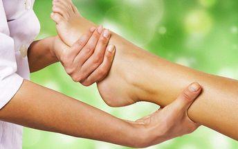 Odborná reflexní terapie plosek nohou