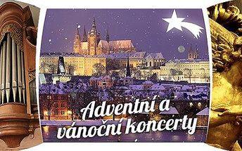 Adventní a vánoční koncerty v kostele u Karlova mostu