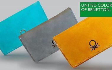 Peněženky Benetton pro milovnice nevšednosti