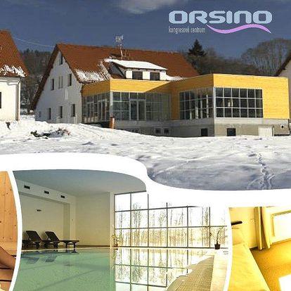 Wellness pobyt v hotelu Orsino na až 4 dny pro dva. Polopenze, bazén, sauna, welcome drink a další!