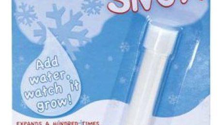 Magický sníh - Vyrobte si sníh, i když není pod nulou!