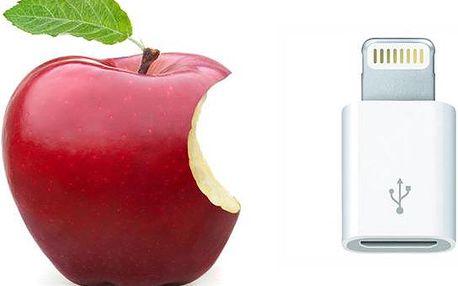 Kompaktní adaptér z micro USB na iPhone lightning