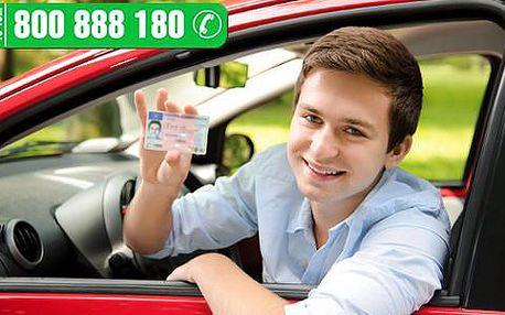 Darujte kupon na řidičský průkaz sk. B od autoškoly NOBE s předstihem a začněte třeba až na jaře