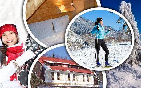 Pobyt s polopenzí pro dva v horské Chatě na Papírně v blízkosti lyžařských areálů a běžeckých stop!