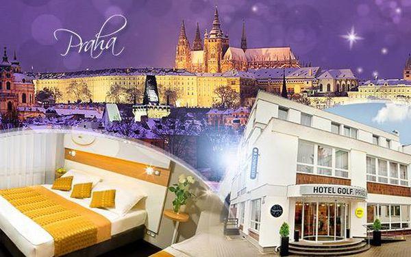 Hotel Golf**** Praha! Zimní pobyt na 3 dny pro 2 osoby se snídaněmi či polopenzí a wellness & spa procedurami!