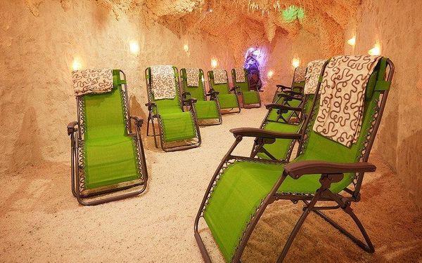 10× léčivá terapie či cvičení v solné jeskyni