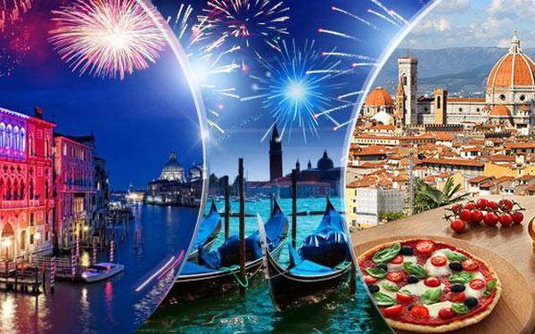 Silvestr - Benátky a Florencie! V ceně doprava, ubytování v hotelu, snídaně, průvodce! Odjezd Praha, Brno a dalších 10!
