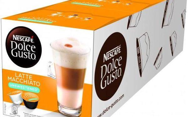 Nescafé Dolce Gusto LATTÉ MACCHIATO light 3balení