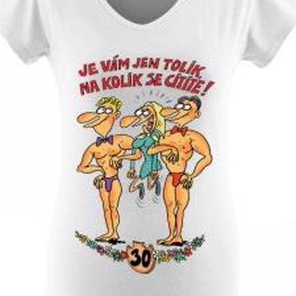 Tričko - Výročí žena 30 - L