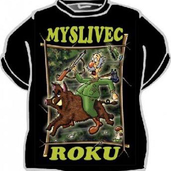 Tričko - Myslivec roku - XXL
