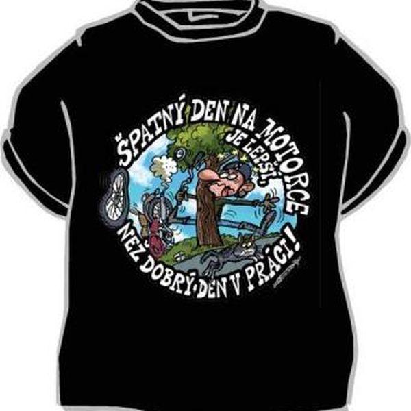 Tričko - Špatný den na motorce - XL