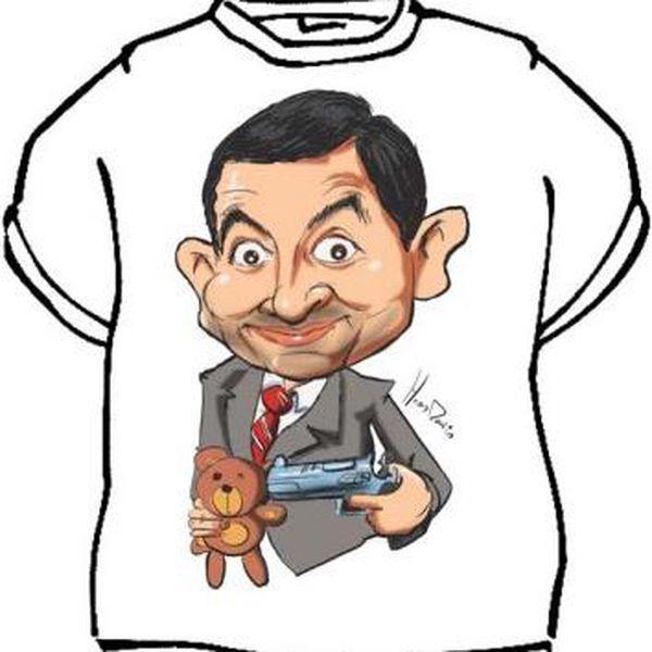 Tričko - Mr.Bean - XL