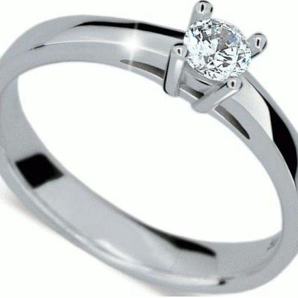 Danfil Zásnubní prsten DF1902 57 mm