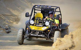 Adrenalinová jízda v Buggy