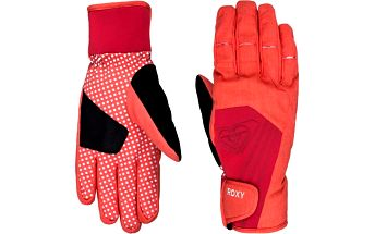 Roxy Rukavice Tyia Glove Hot Coral WTWSG044-MKZ0 L