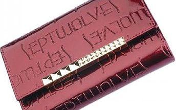 Septwolves Dámská kožená peněženka 3A10042