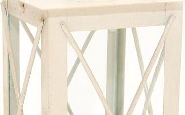 Mini lucerna 14 cm, bílá
