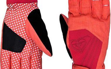 Roxy Rukavice Tyia Glove Hot Coral WTWSG044-MKZ0 L