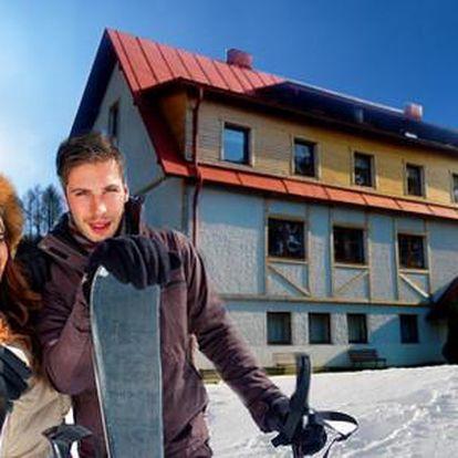 Lyžařský ráj v Hotelu Eden s polopenzí, wellness a dítě do 12 let zdarma