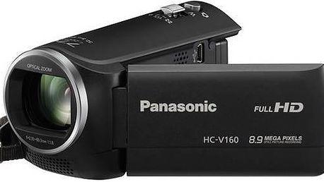 Panasonic HC-V160EP-K černá + Doprava zdarma