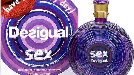 Desigual Sex - toaletní voda s rozprašovačem 100 ml