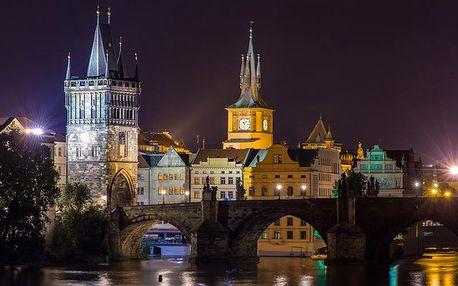 Praha pro DVA ve 4* hotelu s wellness a snídaní