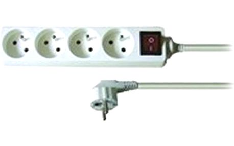 Solid Prodlužovací kabel PP31 2m 4 zásuvky