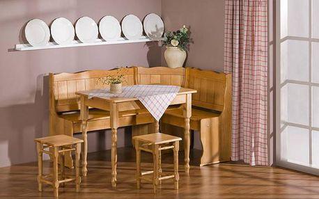 MALYS-GROUP Kuchyňská rohová lavice NK6