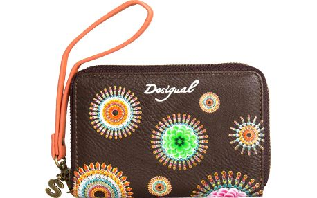 Desigual Peněženka Mini Zip Fringes Pure Cuerto West 50Y52D2 6064