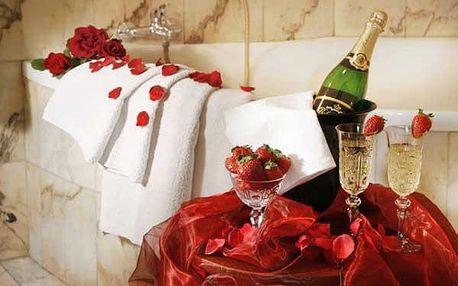 Romantika pro dva - snídaně do postele a wellness