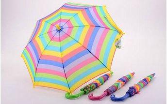 Dětský deštník Alltoys vystřelovací - barevný