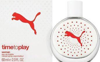 Puma Time To Play Woman - toaletní voda s rozprašovačem 60 ml