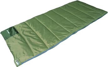 Dekový spací pytel High Peak Patrol, zelený