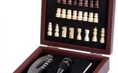 Souprava na víno s šachovnicí, sada 36 ks RENBERG RB-3901