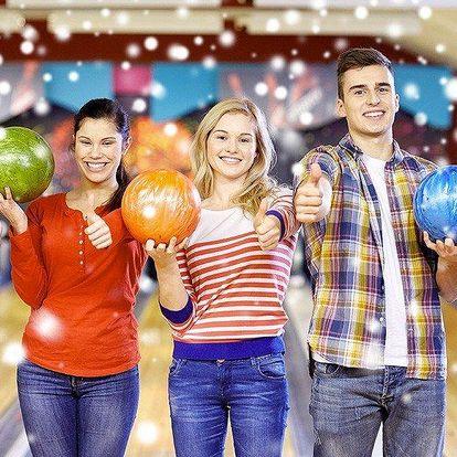2 hodiny bowlingu až pro 6 kamarádů