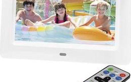 Digitální fotorámeček Sencor SDF 760 W
