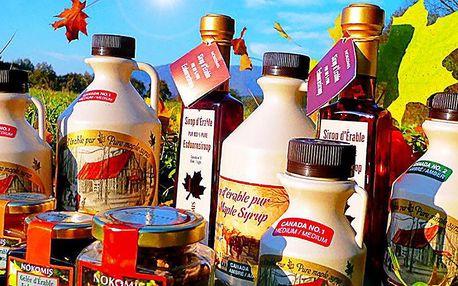 Balíčky javorových dobrot přímo z Kanady