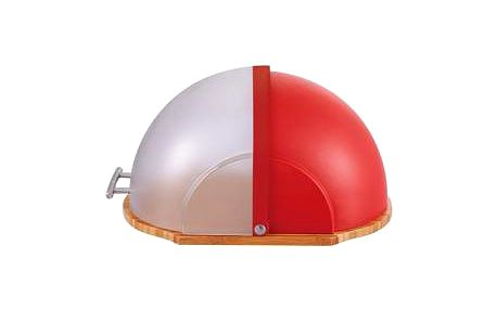 Chlebovka plast / bambus, červená RENBERG RB-4430cerv