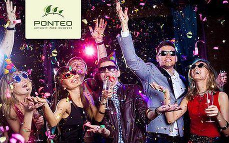 Silvestr s wellness, 6chodovým menu a ubytováním v Hotelu Ponteo ****