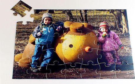 Puzzle z vašich vlastních fotografií ve 3 různých rozměrech