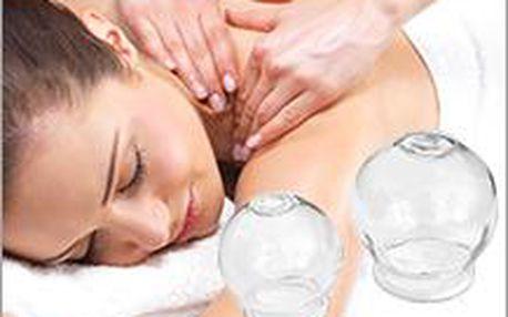Klasická masáž na 30 minut a dalších 30 minut baňkování navíc! Ideální kombinace pro ztuhlé a unavené svalstvo.