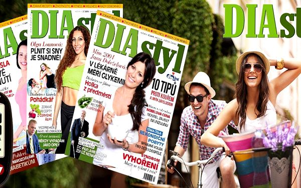 Roční předplatné časopisu DIAstyl s dárky