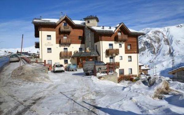 Itálie, oblast Livigno, doprava vlastní, polopenze, ubytování v 3* hotelu na 8 dní