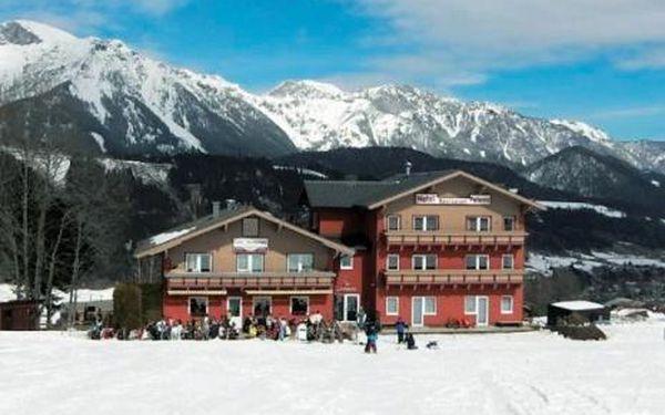 Rakousko, oblast Schladming / Dachstein, doprava vlastní, polopenze, ubytování v 3* hotelu na 8 dní