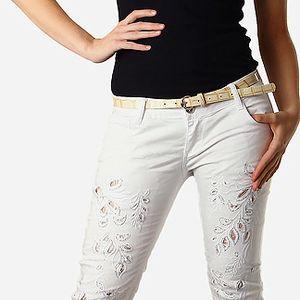 Dámské bílé jeans