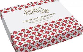 Sada čajů Bílé Vánoce 96 sáčků