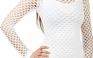 Úžasné tričko z velkých oček bílá