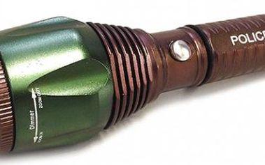 Dobíjecí SWAT svítilna Power Style!