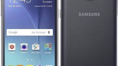 Samsung Galaxy J5 Dual SIM (SM-J500F) (SM-J500FZKDETL) černý + Voucher na skin Skinzone pro Mobil CZ v hodnotě 399 Kč jako dárek+ dárek SIM s kreditem T-mobile 200Kč Twist Online Internet (zdarma) + Doprava zdarma